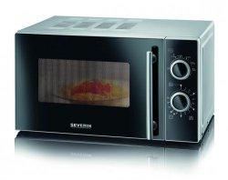 Microwave SEVERIN MW 7875, silver/black