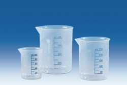 Griffin beakers, PP