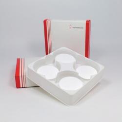 Qualitative Quartz microfibre filters, QFH, round filters