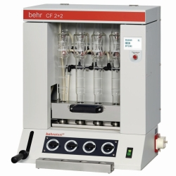 behrotest® CF 2+2 and CF 6, Semi-automatic Crude Fibre Extraction