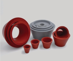 Rubber Spacers (GuKo), natural rubber