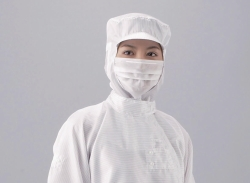 Hood for cleanroom, polyester