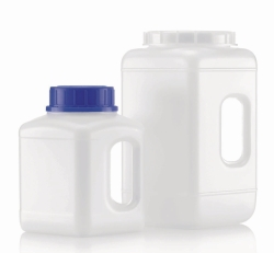 Wide-mouth bottles, 311 series, HDPE