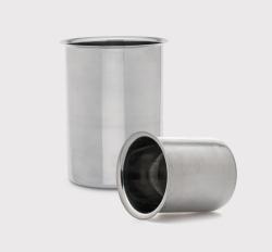 Beakers, stainless steel