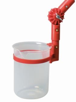 Angular, sample beakers, angled for TeleScoop, PP