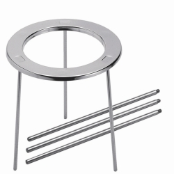 Tripod stands, stainless steel