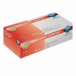 Disposable Gloves Comfort, Latex, Powder-Free