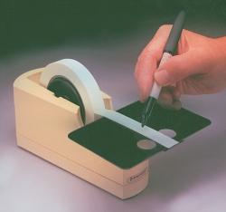 Adhesive tape dispenser Write-On™