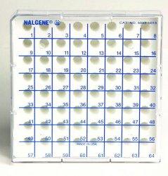 Microcentrifuge Tube Storage Boxes Nalgene™, Type 5055, PC