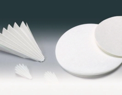 Filter paper, qualitative, Grade 1288, folded filters