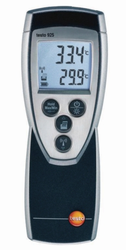 Temperature meter, digital, testo 922