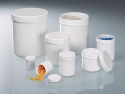 Jars with screw cap, LaboPlast®, PP