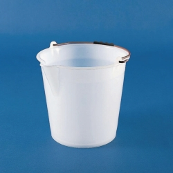Bucket with spout, LDPE