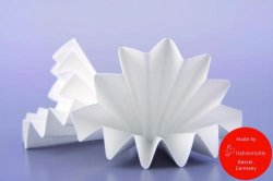 Filter paper, universal, folded filters
