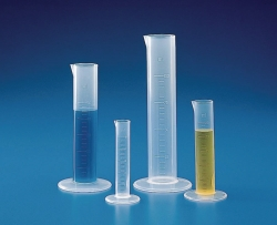 Measuring cylinders, PP, short form, moulded graduations