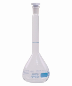 Volumetric Flasks Volac FORTUNA®, Borosilicate Glass 3.3, Class A, with PP Stoppers