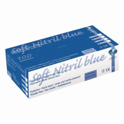 Disposable Gloves Soft Nitril 200, Nitrile
