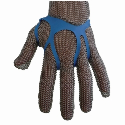Glove stiffeners for Cut-Protection wire mesh glove