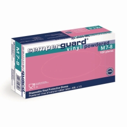 Disposable gloves, Semperguard® Vinyl, powdered