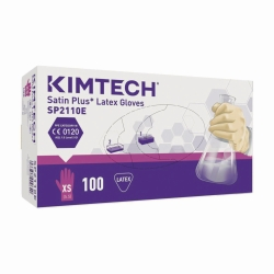 Disposable Gloves KIMTECH SCIENCE* SATIN PLUS, Latex, Powder-Free