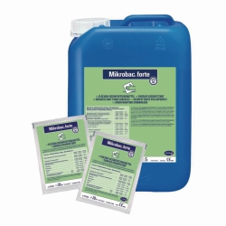 Surface disinfection Mikrobac® forte