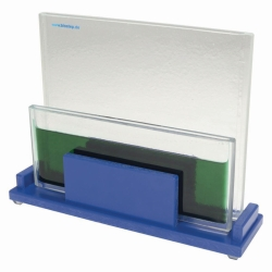 Dipping chamber, glass insert
