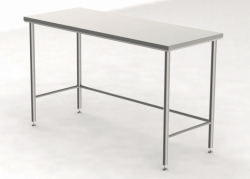 Cleanroom Tables with a Smooth Worktop