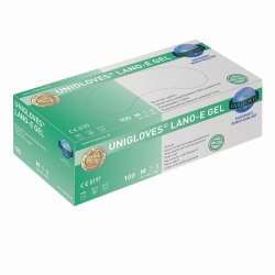 Disposable Gloves LANO-E GEL, Latex, Powder-Free