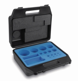 Plastic case for calibration weight sets