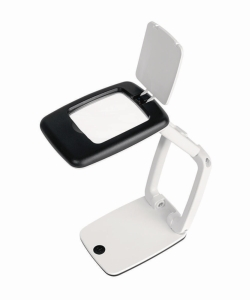 Desk Magnifier POCKET with LED light