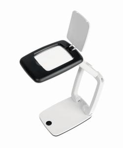 Desk Magnifier POCKET with LED light