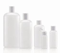 Round Bottles, series 308, HDPE