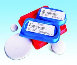 Membrane filters, Grade TE, PTFE with support