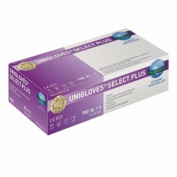 Disposable Gloves Select Plus, Latex, Powder-Free