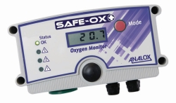 Oxygen Enrichment and Depletion Safety Monitor, Safe-Ox+™
