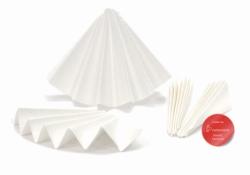 Filter Paper 2095, low on nitrogen, folded filters