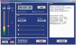Remote control WINSONIC® DT for Sonorex Digitec ...-RC ultrasonic baths