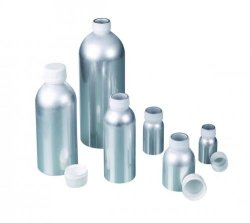Aluminium bottles, with UN approval