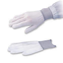 Undergloves, ASPURE cool, white polyester