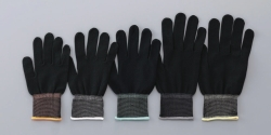 Undergloves ASPURE, black, polyester or nylon