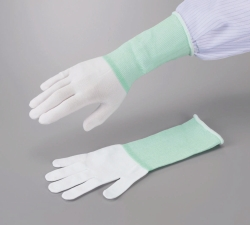 Undergloves ASPURE long, white, nylon