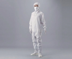 Overall for cleanroom ASPURE, polyester, with hood and mask