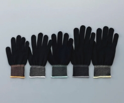 Gloves ASPURE BLACK, PU-coated