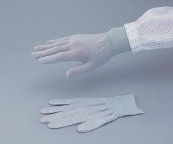 Conductive Gloves ASPURE,  Anti-static, grey, Nylon