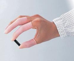 Finger Cots ASPURE, anti-static, Natural rubber