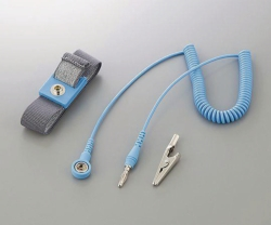 ESD-Wrist straps ASPURE, Polyester, with cord