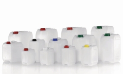 Industrial jerrycans, HDPE