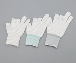 Gloves ASPURE ESD,  3 halffinger, white