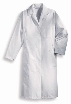 Ladies laboratory coat Type 81509, 100% cotton