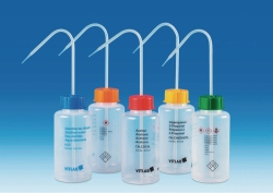 VITsafe™ safety wash bottles, wide-mouth, PP/LDPE